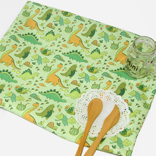 [Animal Pattern] Cute Dinosaur, 100% Cotton Fabric by the yard, DTP
