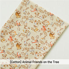 [Cotton-A-Animal] Animal Friends on the