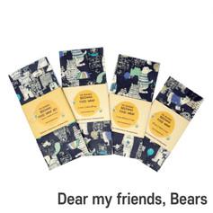 [Mysgreen-Beeswax food wrap-A-Bear] Dear