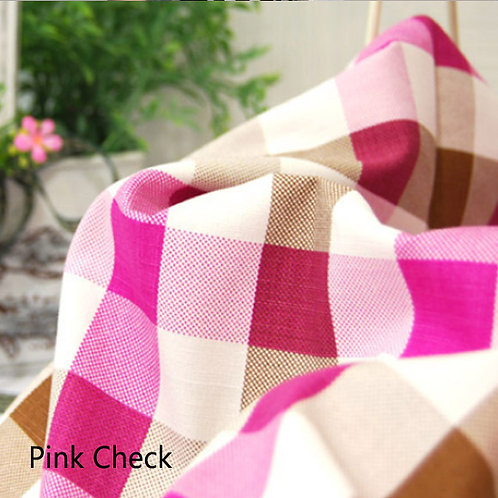 [Check Patterns] Oxford Cotton Fabric by the yard,  110cm wide, Free Shipping