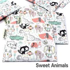 [Mysgreen-Reusable Pouch-A-Animal] Sweet