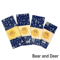 [Mysgreen-Beeswax food wrap-A-Bear] Bear