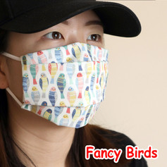 [Mysgreen-Face mask-Animal] Fancy Birds.