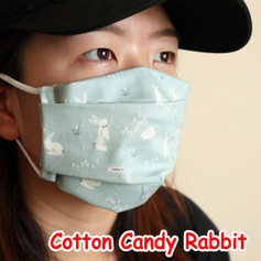 [Mysgreen-Face mask-Animal] Cotton Candy