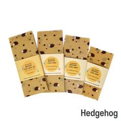 [Mysgreen-Beeswax food wrap-A-Hedgehog]