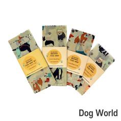 [Mysgreen-Beeswax food wrap-A-Dog] Dog W