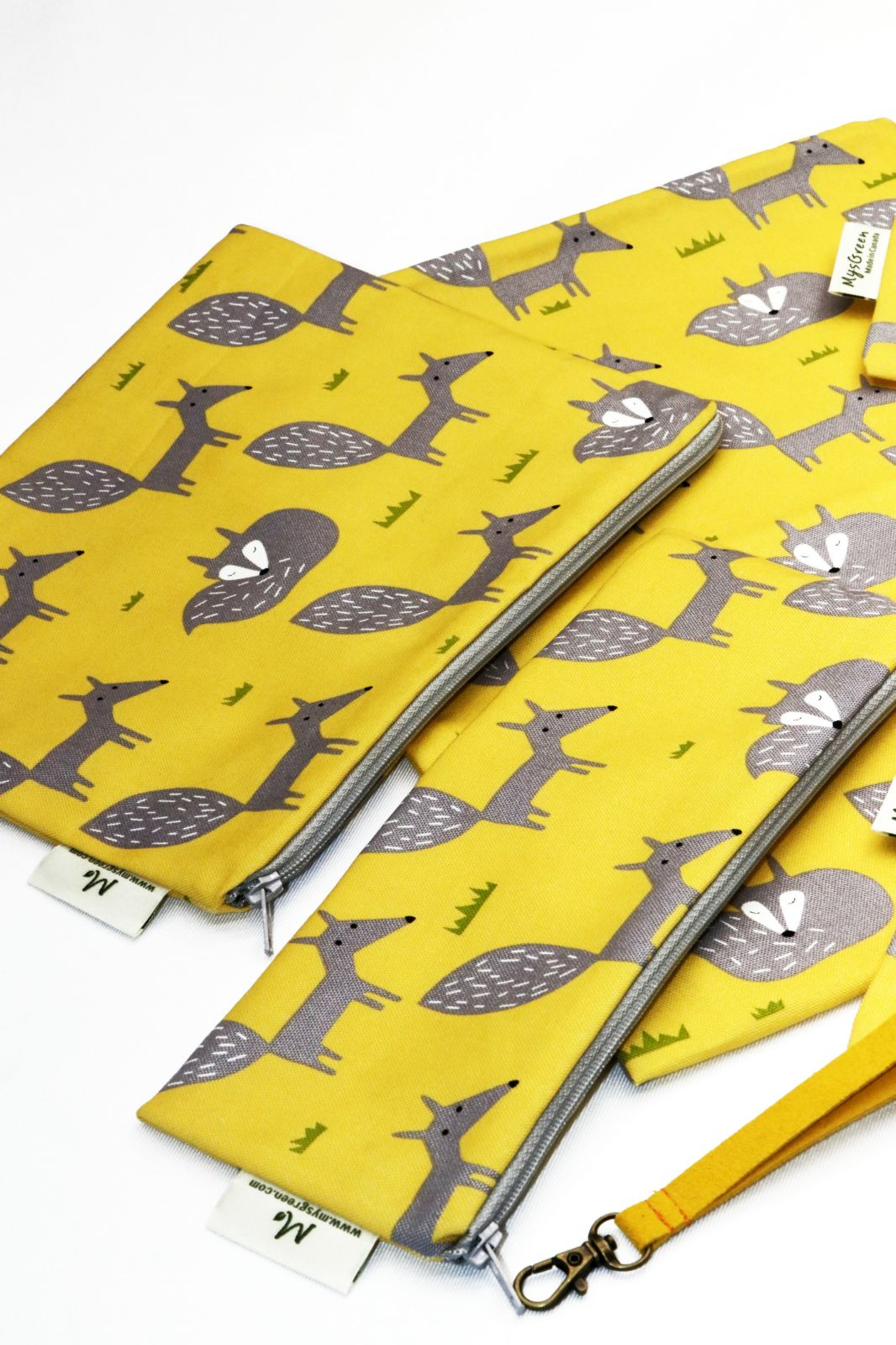 [Pouch Set-Northern Europe Fox-yellow] 0