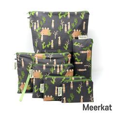 [Mysgreen-Reusable Pouch-A-Animal] Meerk