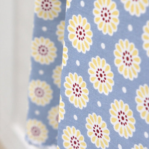 [Floral Pattern] Mum, Oxford Cotton Fabric by the yard, Free Shipping, 110cm
