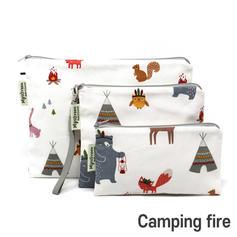 [Mysgreen-Reusable Pouch-A-Baer] Camping