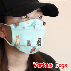[Mysgreen-Face mask-Animal] Various Dogs