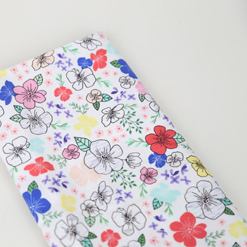 [Floral Pattern] Blossom, 100% Cotton Fabric by the yard, DTP, Free shipping