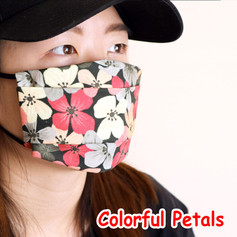 [Mysgreen-Face mask-Floral] Colorful Pet