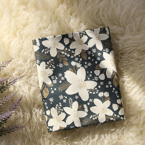 [Floral Pattern] Jasmine, 100% Cotton Fabric by the yard, DTP, Free shipping