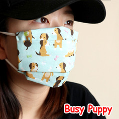 [Mysgreen-Face mask-Animal] Busy Puppy.j