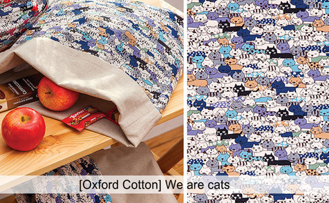 [Animal-Cat] We are cats [Oxford Cotton]
