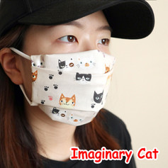 [Mysgreen-Face mask-Animal] Imaginary Ca
