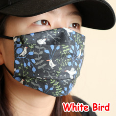 [Mysgreen-Face mask-Animal] White Bird.J