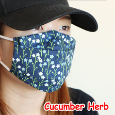 [Mysgreen-Face mask-Floral] Cucumber Her