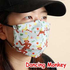 [Mysgreen-Face mask-Animal] Dancing Monk