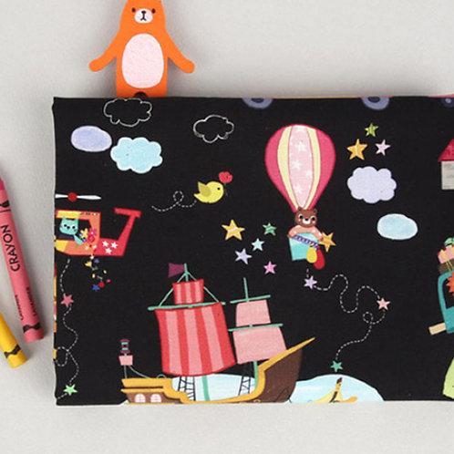[Kids Pattern] Animal Friend's Journey, 100% Cotton Fabric by the yard,