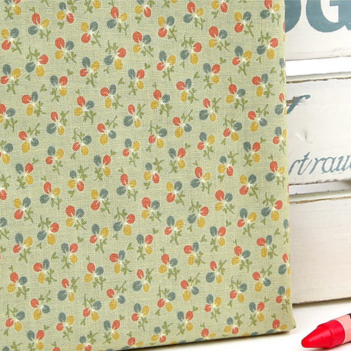 [Floral Pattern] Three-leaf clover, 100% Cotton Fabric by the yard,Free shipping