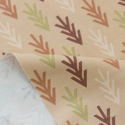 [Abstract Pattern] The odor of pines, Oxford Cotton Fabric by the yard,