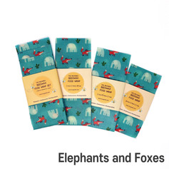 [Mysgreen-Beeswax food wrap-A-Fox] Eleph
