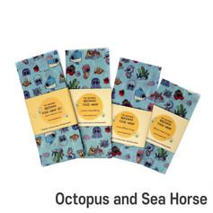 [Mysgreen-Beeswax food wrap-A-Fish] Octo