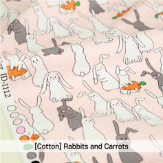 [Cotton-A-Animal] Rabbits and carrots 02
