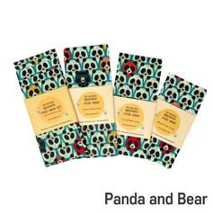 [Mysgreen-Beeswax food wrap-A-Bear] Pand
