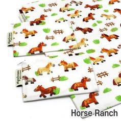 [Mysgreen-Reusable Pouch-A-Animal] Horse