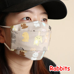 [Mysgreen-Face mask-Animal] Rabbits.JPG