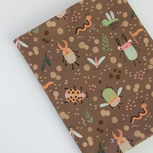[Animal Pattern] Pretty Bugs print 100% Cotton Fabric by the yard DTP