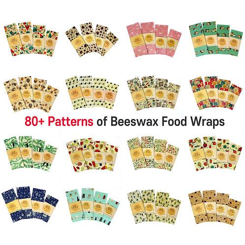 80+ Reusable Beeswax food wraps Wax wrap Washable paper Zero waste Gift