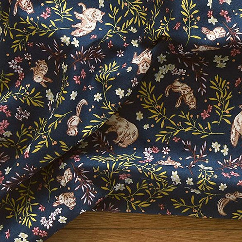 [Animal Pattern] Animal Land print 100% Cotton Fabric by the yard DTP