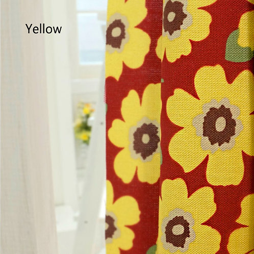 [Floral Patterns] Daily flower, Oxford Cotton Fabric by the yard, Free Shipping