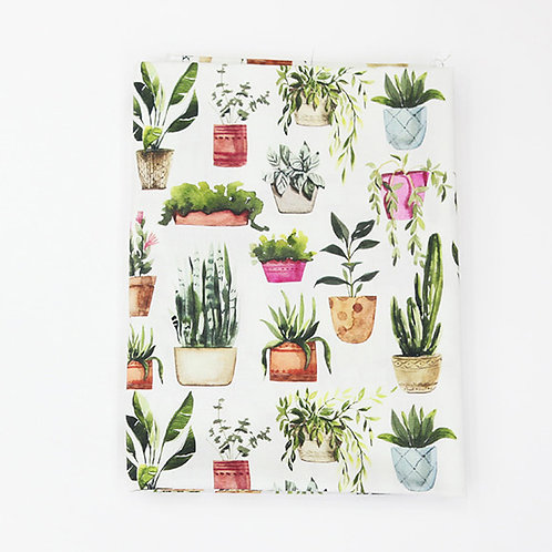 [Floral Pattern] Tropical Plants, 100% Cotton Fabric by the yard, DTP