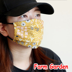 [Mysgreen-Face mask-Floral] Farm Garden.