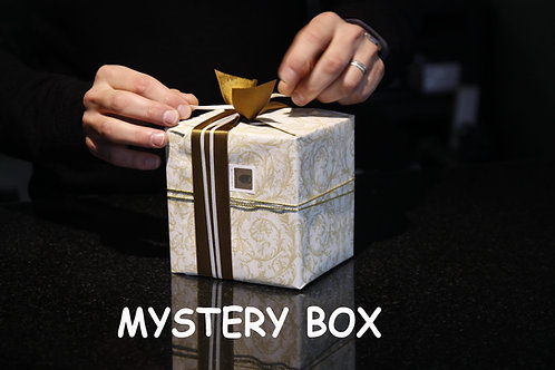 Mystery box, Eco-friendly gift, Zero waste, Mystery bag, Secret box