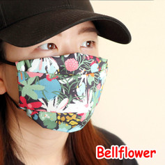 [Mysgreen-Face mask-Floral] Bellflower.J