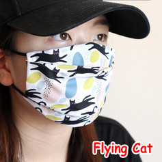 [Mysgreen-Face mask-Animal] Flying Cat.J