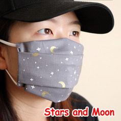 [Mysgreen-Face mask-Celestial] Stars and