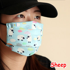 [Mysgreen-Face mask-Animal] Sheep.JPG