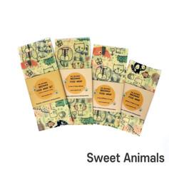 [Mysgreen-Beeswax food wrap-A-Animal] Sw