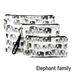 [Mysgreen-Reusable Pouch-A-Animal] Eleph