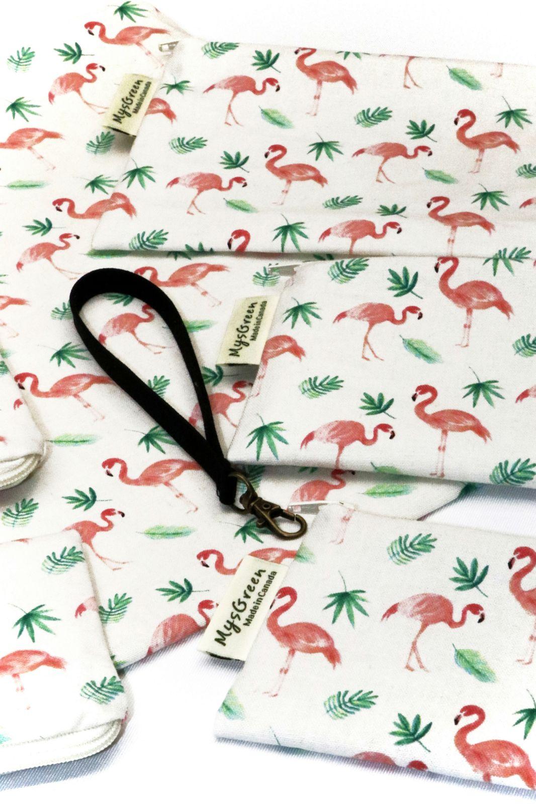 [Pouch Set-flamingo] 018