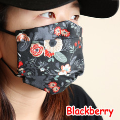 [Mysgreen-Face mask-Floral] Blackberry.j