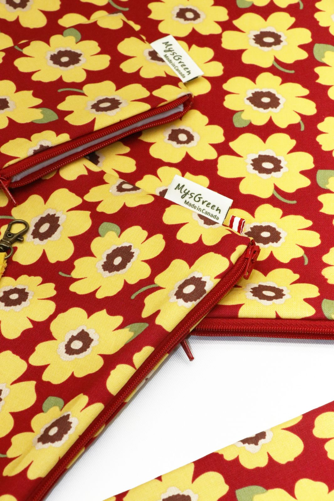[Pouch Set-Yellow Daily Flower] 012