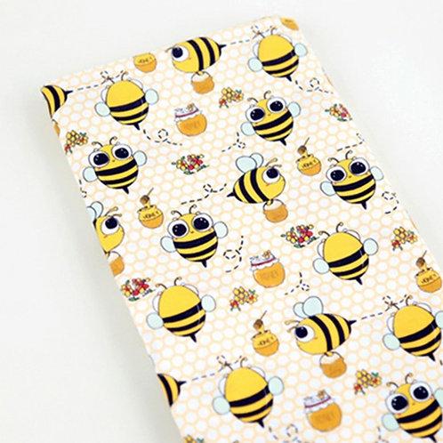 [Animal Pattern] Honeybee, 100% Cotton Fabric by the yard, DTP, Free shipping